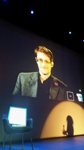 Edvard Snowden mottar Bjørson-prisen